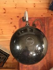 GECOS alte Schreibtischlampe DRGM Klemmlampe Schwanenhals Leuchte schwarz