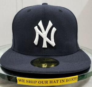 New York Yankees~MLB~New Era~59FIFTY~Authentic~On-Field Cap-GM 2017~Navy & White