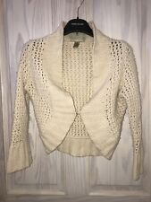 Abercrombie And Fitch Women's Vintage Cardigan Knitwear Jumper Size Small (S)