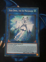 Yuki-Onna, The Ice Mayakashi HISU-EN037 Secret Rare 1st Edition YuGiOh