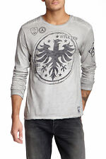 NEW AFFLICTION SQUADRON ELITE LONG SLEEVE TEE T-SHIRT TOP SZ XL EXTRA LARGE