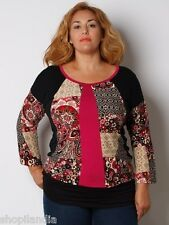 T-Shirt T-Shirt TAILLES GRANDES TAGLIE FORTI PLUS TAILLE GRANDE TAILLE XL 54/56