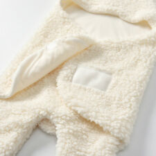 1X Baby Swaddle Kid Fake Cashmere Blanket Bedding Quilt Play Blanket Towel Wrap