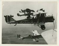 De Havilland DH9A Biplane Formation Large Original Hawker Siddeley Photo, BZ766
