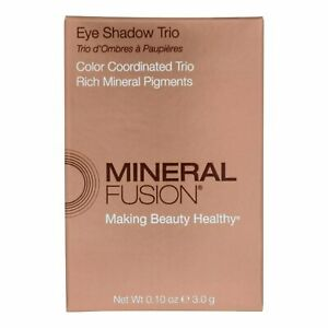 Mineral Fusion Eye Shadow Trio - Rose Gold - 0.1 Ounce (Pack of 8)