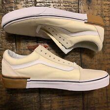 339a045db14e59 Vans Old Skool Gum Block Classic White Sz 9 VN0A38G1U59