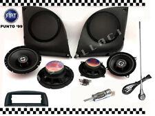 KIT FIAT PUNTO 2 versione 4 casse Tasche + Antenna e Mascherina autoradio