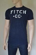 Nueva Abercrombie & Fitch Blue Mountain Athletic inspirado Navy Cc Camiseta Xl