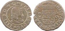 Espagne, 16 maravedis, Philippe IV, 1664, cuivre - 127