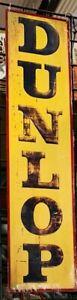 NEW Dunlop tin metal sign