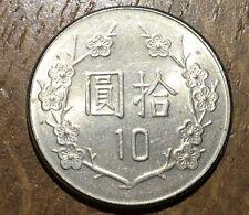 PIECE DE 10 YUAN DE TAÏWAN (62)
