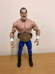 WWE Chris Benoit Mattel Elite Custom Figure With World Title