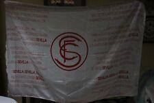 BANDERA OFICIAL DEL SEVILLA F.C. DEL CENTENARIO CON LA LETRA DEL HIMNO FLAG