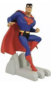 Diamond Select Premier Collection Statue Superman Justice League Animated Batman