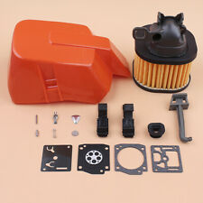 HD Tall Air Filter Cover Carb Kit For 362 365 371 372 372XP Husqvarna Chainsaws
