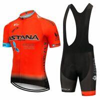 2020 equipo ASTANA conjunto de Ropa de Ciclismo hombres bicicleta Maillot