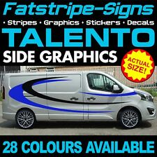 Fiat TALENTO Graphics Stickers Stripes Decals Day Van Camper SWB LWB L1 L2 H1 H2