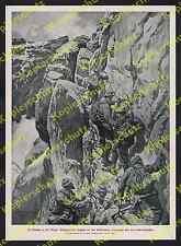 Ernst Platz Bergführer Seilschaft Zugspitze Höllental Steiganlage Garmisch 1920!