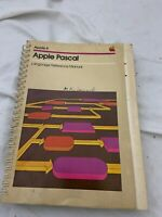 Apple II Vintage Apple Pascal Language Reference Manual Paperback (1980)