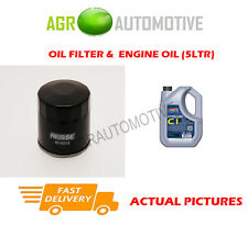 DIESEL OIL FILTER + C1 5W30 ENGINE OIL FOR DACIA DUSTER 1.5 110 BHP 2010-