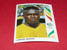 519 JUNIOR SENAYA TOGO PANINI FOOTBALL GERMANY 2006 WM FIFA WORLD