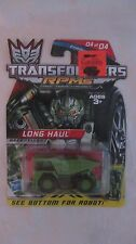 Transformers Long Haul RPMs Combat Series 1:64 Scale Truck By Hasbro 2009 dc1177