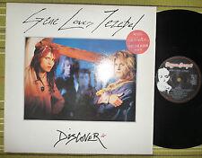 GENE LOVES JEZEBEL, DISCOVER, 2xLP 1986 UK 1ST PRESS A1/B1 EX/EX/EX 2 INNER/SL