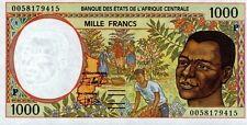 East African States - Tchad billet neuf de 1000 francs pick 602g UNC