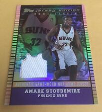 2002-03 Topps Amare Stoudemire Jersey Edition Home Cookin Rookie #245/299