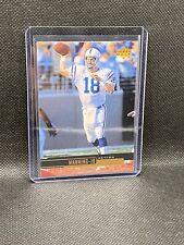 1999 Upper Deck Peyton Manning 88 Colts Legend
