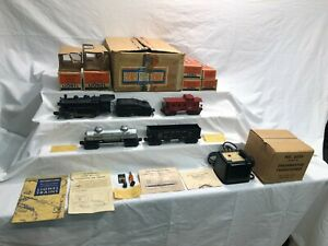 Lionel No 1425B Freight Switching Outfit 1656 Switcher 6403B  Boxed Set  Postwar