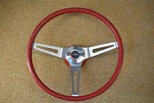 69 70 Chevelle Camaro Red 3 Spoke Comfort Grip Sport Steering Wheel Gs Gto 442