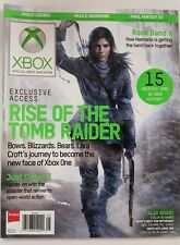 Xbox Rise of Tomb Raiders Greatest Games Rock Band 4 May 2015 FREE SHIPPING JB
