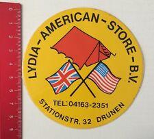 Aufkleber/Sticker: Lydia-American-Store-B.V. Drunen (060616127)
