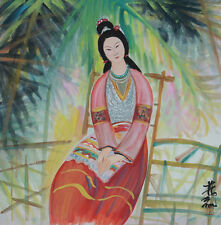 Excellent Chinese Scroll Painting  By Lin Fengmian P210 林风眠