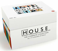 HOUSE M.D BLU-RAY Complete Season Series 1 2 3 4 5 6 7 8 Collection Boxset NEW