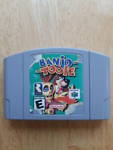 Banjo tooie n64 authentic**torn label** works great