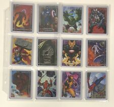 2016 Marvel Masterpieces Full Base Set 1-90 High Cards Included