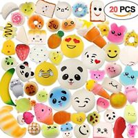 Squishy Toys 20 PCS, Acetek Party Bag Fillers Gifts Party Favors for Kids Cute K