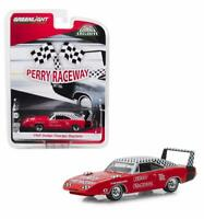 GREENLIGHT 30043 1969 DODGE CHARGER DAYTONA PERRY RACEWAY PACE DIECAST CAR 1:64