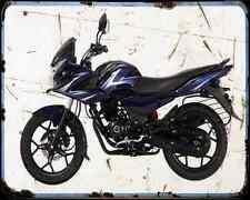 Bajaj Discover 150 14 02 A4 Metal Sign moto antigua añejada De