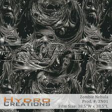 HYDROGRAPHIC FILM FOR HYDRO DIPPING WATER TRANSFER FILM ZOMBIE NEBULA