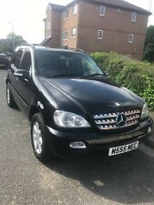 Mercedes ml 270 cdi 7 seater  private plate