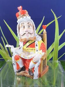 """ALICE IN WONDERLAND BRONTE """"THE KING """" CANDLE SNUFFER LIMITED EDITION"""