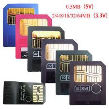 New SmartMedia SM Memory Card for electronic organ keyboard 0.5/2/4/8/16/32/64MB