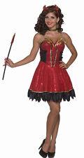 Forum Novelties Women's Devil's Delight Sexy Demon Adult Costume M/L (8-12)
