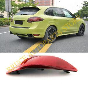 For Porsche Cayenne 2011-2014 Left Side u Bumper Rear Fog Lamp Reflector Light