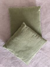 2 x M&S Mark's & Spencer - Green Square Pillows