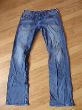 mens TRUE RELIGION ricky jeans - size 32/33 great condition