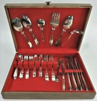 International Silver Company Silverplate Flatware Patriot 55 Piece Service for 8